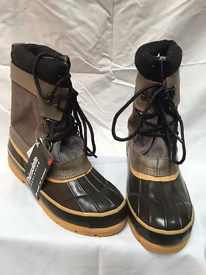 Mens Apres Snowboots  Lace Up  Western Chief  Thinsulate  Brand New