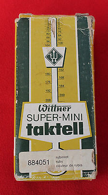 Superb Fully Working Wittner Super Mini Taktell Metronome. Working.missing Key.