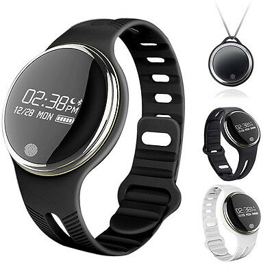 Smartwatch Health Pedometer Activity Fitness Tracker Wristband Water Resistant