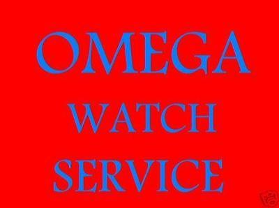 Omega Watch Clean & Service +Free Quality Leather Strap