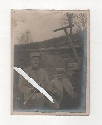 Photo Guerre 1914 18 Ww1 Arras 1916 Poseur  Secretaire Telephoniste