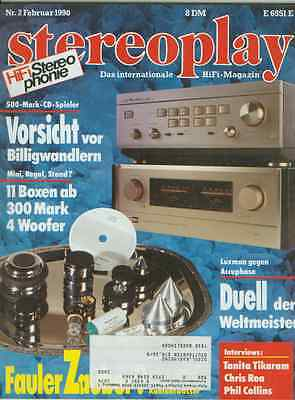 Stereopl.2/90 Luxman L 540,Accuph.E 405,Rogers LS 6/2 p,Philips FB 825,Uher Fair