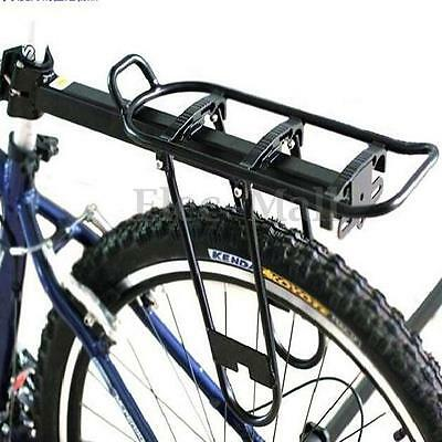 25Kg Bicycle Quick Release Rear Rack Seat Post Pannier Carrier + Free Reflector
