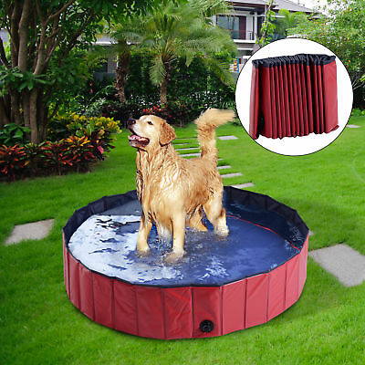 "φ55"" Folding Dog Bath Pool Pet Swimming Pool Puppy Bathing Tub Pet Supplies"