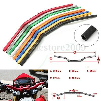 22mm 7/8 To 28mm 1 1/8 Motorcycle Handlebar Handle Bar Dirt Pit Bike ATV Quad
