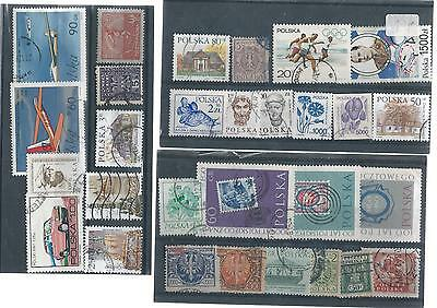 Poland Used Stamp Collection