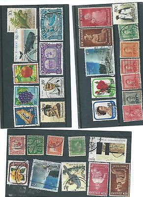 Newzealand Used Stamp Collection