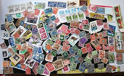 Mixture Of Unchecked  Commonwealth & World Stamps On & Off Paper. Lot#165