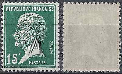 France Timbre Type Pasteur N°171 Neuf ** Luxe Gomme D'origine Mnh