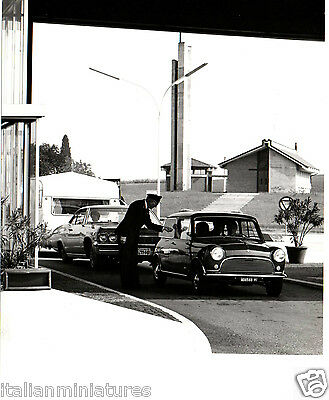 Innocenti Mini Cooper ? Austin Morris Original Press Photograph Zabban