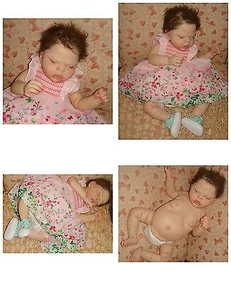 """Beautiful Reborn SAILOR ROSE by Talented CASSIE BRACE 21""""Tummy Plate & Outfits"""