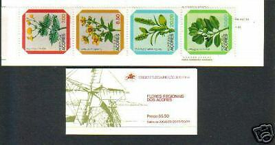 Portugal / Azores Booklet Mnh Flowers (1981)