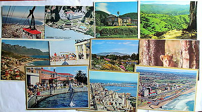 South Africa - Interesting Lot of Postcards - Table M., Caledon,Clifton, PE Etc