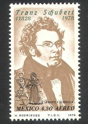 Mexico 1978 Schubert/Composer/Music/People 1v n39830
