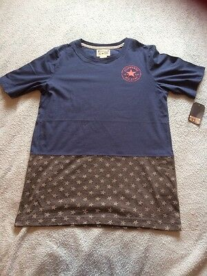 Boys Converse T-shirt Age 12-13 New With Tags