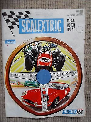 1968 Scalextric 9Th Edition Catalogue - Scalextric Super 124 James Bond