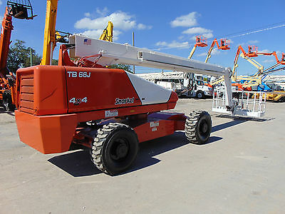 2008 Snorkel Tb-66J - 66 Ft With Jib - Cummins Diesel 4X4 - Aerial Man Lift