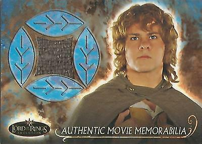 "Lord of the Rings Evolution - ""Merry's Travel Cloak"" Memorabilia Costume Card"