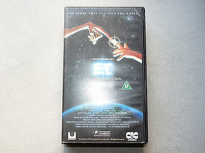 Et The Extra Terrestral Vhs Video