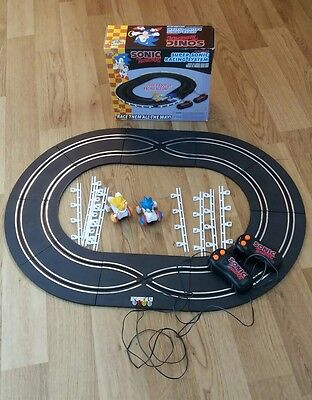 Sonic The Hedgehog Racing System Game Like Scalextric Complete Boxed Retro