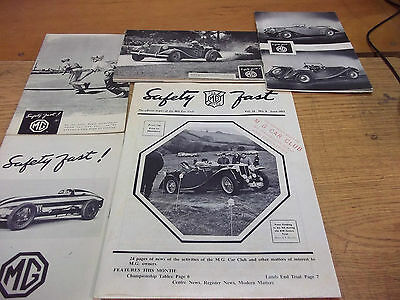 MG Safety Fast Newsletter lot