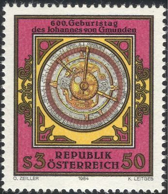 Austria 1984 Gmunden/Astronomy/Mathematics/Clock/Astrolabe/Science 1v (at1021a)