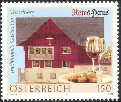 Austria 2015 Wine/Alcohol/Drink/Food/Gastronomy/Restaurants/Buildings 1v at1053