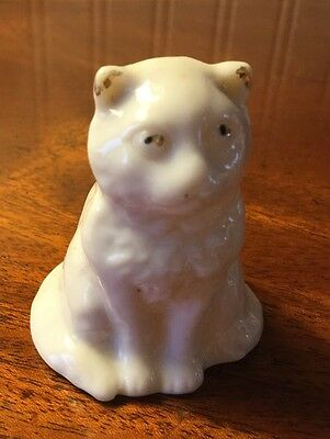 Crested China Model Of A Sitting Cat.... GIRVAN  CREST...