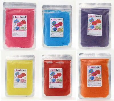 250g x 4 Pro Classikool Instant Candy Floss Sugar ALCOHOLIC DRINKS FLAVOURS