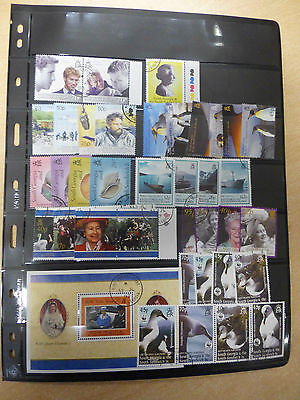 South Georgia Stamp Selection All Fine Used Sets Etc 1997-2006