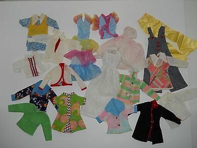 Vintage Fashion Doll Size Clothes - Maddie Mod, Other - Lot Of 18