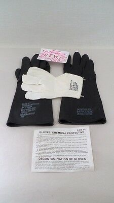 NOS New Chemical Protective Gloves & Liners Sz XL Household Industrial Cleaning