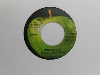 John Lennon/plastic Ono Band=Power To The People (American?)  Ex+