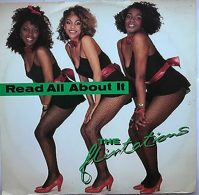 R&B, Soul, 70's 80's The Flirtations, Read All About It, 12 Inch 45