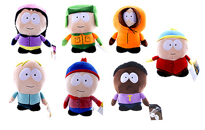 "New Official 10"" South Park Plush Soft Toys Cartman Kenny Kyle Stan Soft Toy"