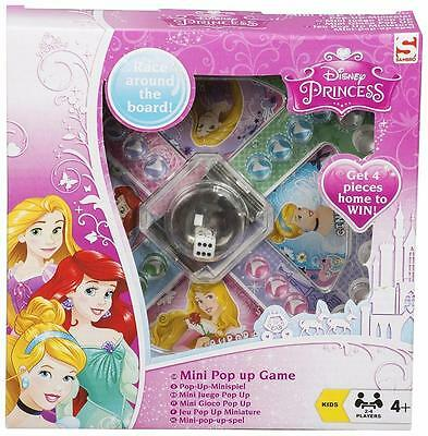 Disney Princess Pop Up Game Kids Girls Fun Gift Toy Dice Party Family Official
