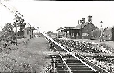 a view of cricklade station (wiltshire)