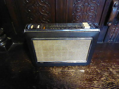 Bush TR130 Transistor Radio Original for parts only not working look!!!!!!!!!