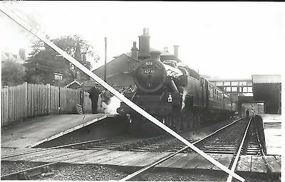 a view of mold station in 1956 (with 42461)