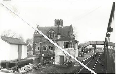 a view of shap station and signal box in 1965 (westmorland)