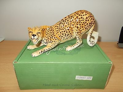 Rare Early Original Beswick Cheetah Cat F2837 - Mint Condition - Original Box