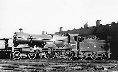 Photo LMS Class 4P  No 1173 seen at Birminghams Aston shed yard on 24/9/32