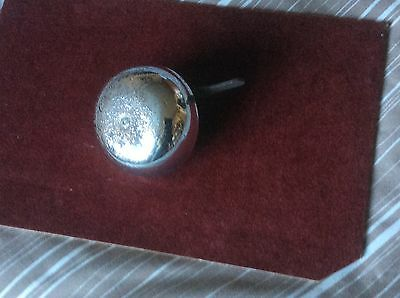 Vintage  Large Chrome  Bicycle Bell Working