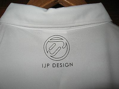 Bnwt Mens Ian Poulter Ijp Logo Classic Polo Golf Shirt Xl/xxl 44/46 White