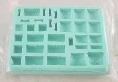 Hirst Arts #94 Eqyptian Temple Fantasy Miniatures Mold