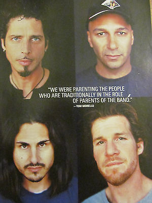 Audioslave, Full Page Pinup