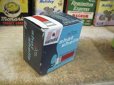 hawthorne empty 16 GA SHOTGUN shot shell  box ORIGINAL USA HUNTING shot shells