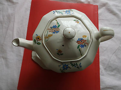 Vintage Alfred Meakin Tea Pot With Stand