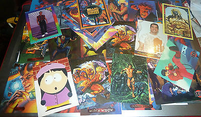 1990s -comic type cards -- DC MARVEL ETC ALL LISTED +LIMITED EDITIONS