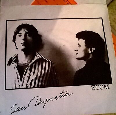 Early punk 1977 from Canada Zoom Sweet Desperation pre Viletones pic sleeve rare